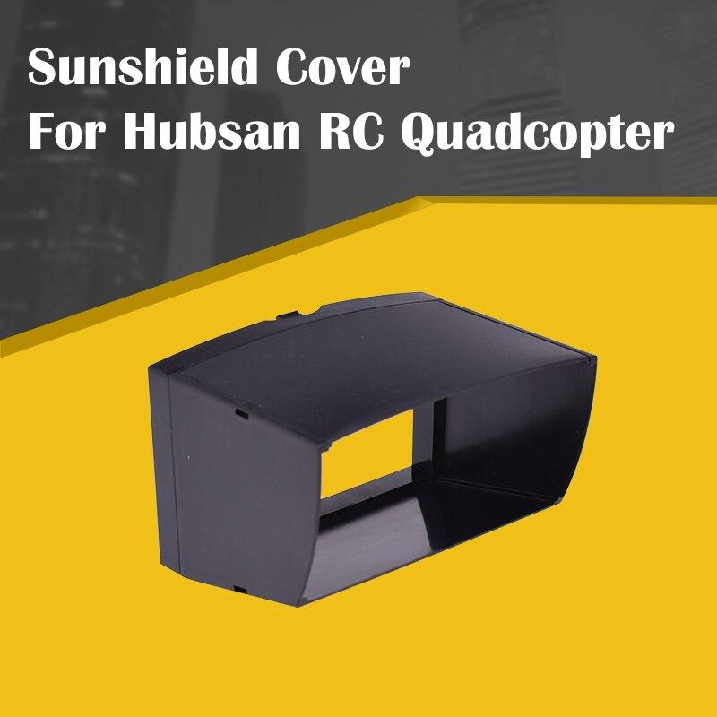 Para hubsan h107d + h502s h111d h107d h501s rc quadcopter transmissor capa sombra protetor solar capa zangão acessórios preto