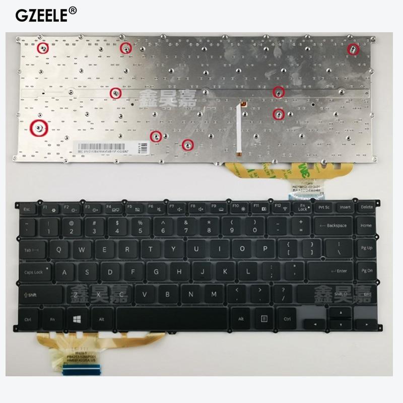 Nuevo teclado para ordenador portátil de EE. UU. Para Samsung NP940Z5L NP930Z5L 940Z5L 930Z5L ATIV Book 9 Pro NP940Z5L-X03US retroiluminado