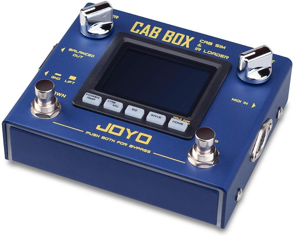 Cabina, caja de guitarra, simulador de altavoz y cargador IR