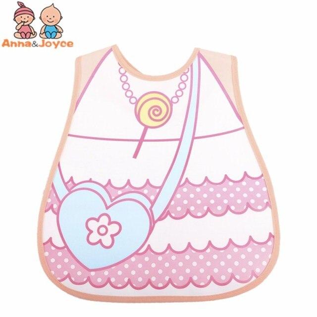 4pc/Lot Baby Bibs Waterproof Cartoon Children Burp Cloths Kids Towel Accessories 8
