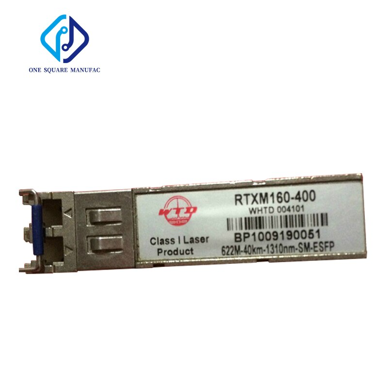 WTD RTXM160-400 622M-40km-1310nm-SM-ESF الألياف البصرية جهاز الإرسال والاستقبال