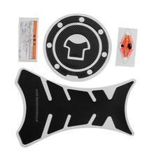 Progrip karbon tankı koruyucu Sticker + gaz kapağı Honda için CBR250R F4 F4i DIY