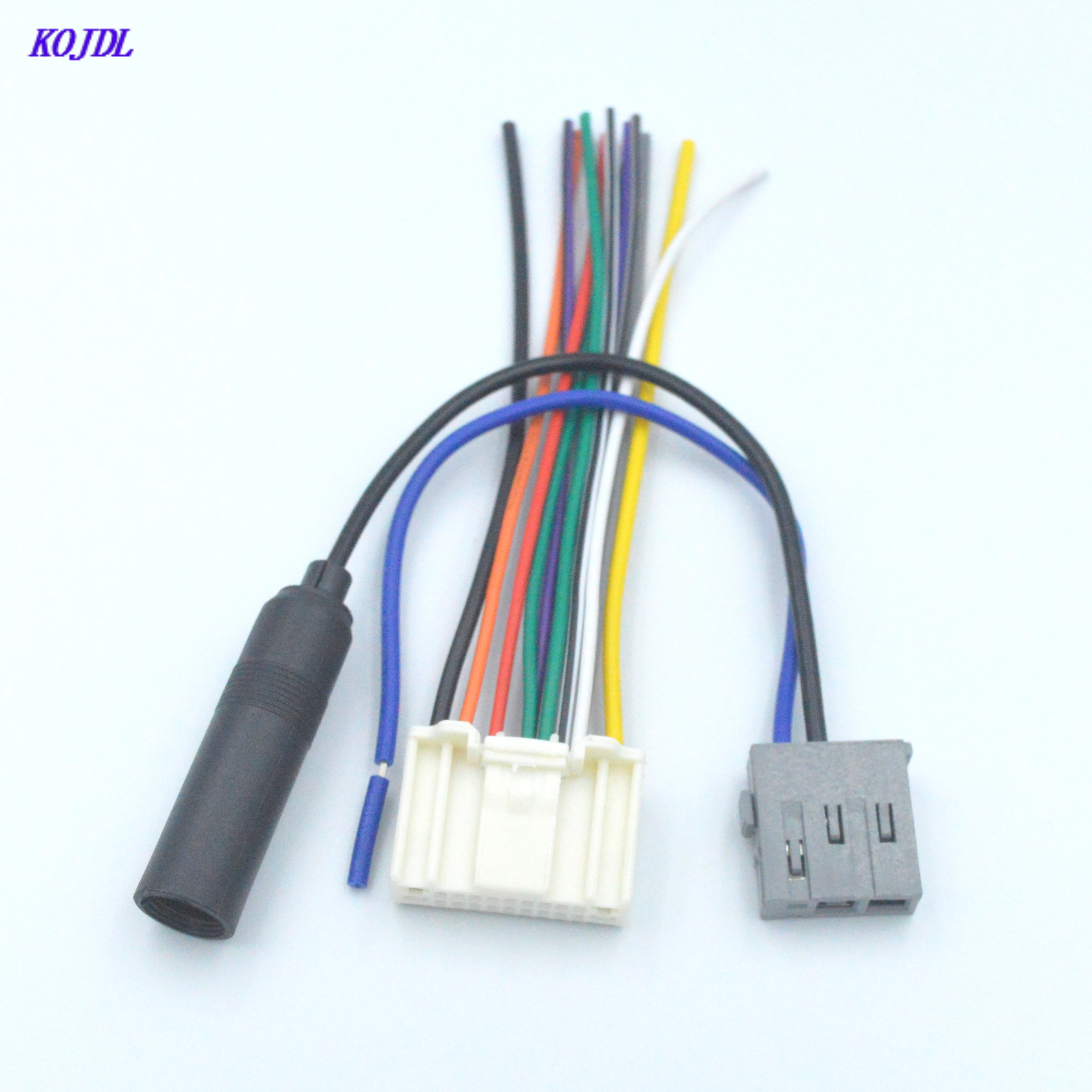 Автомобильный стерео аудио антенна жгут проводов адаптер вилка антенный комплект для Nissan Subaru Infiniti OEM завод радио CD костюм Горячая