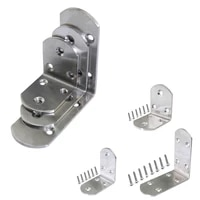 50x38 65x38 90x38 thickened stainless steel right angle corner joint furniture fixed connector l corner code with screws