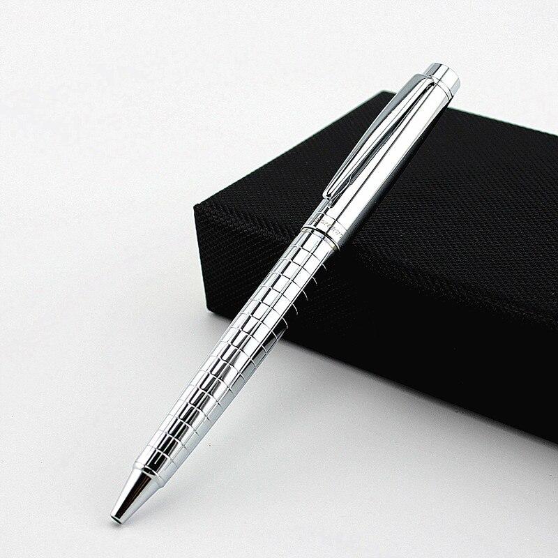 Роскошная металлическая шариковая офисная деловая ручка, шариковые ручки для подарка, школьные ручки для письма, школьные принадлежности д...