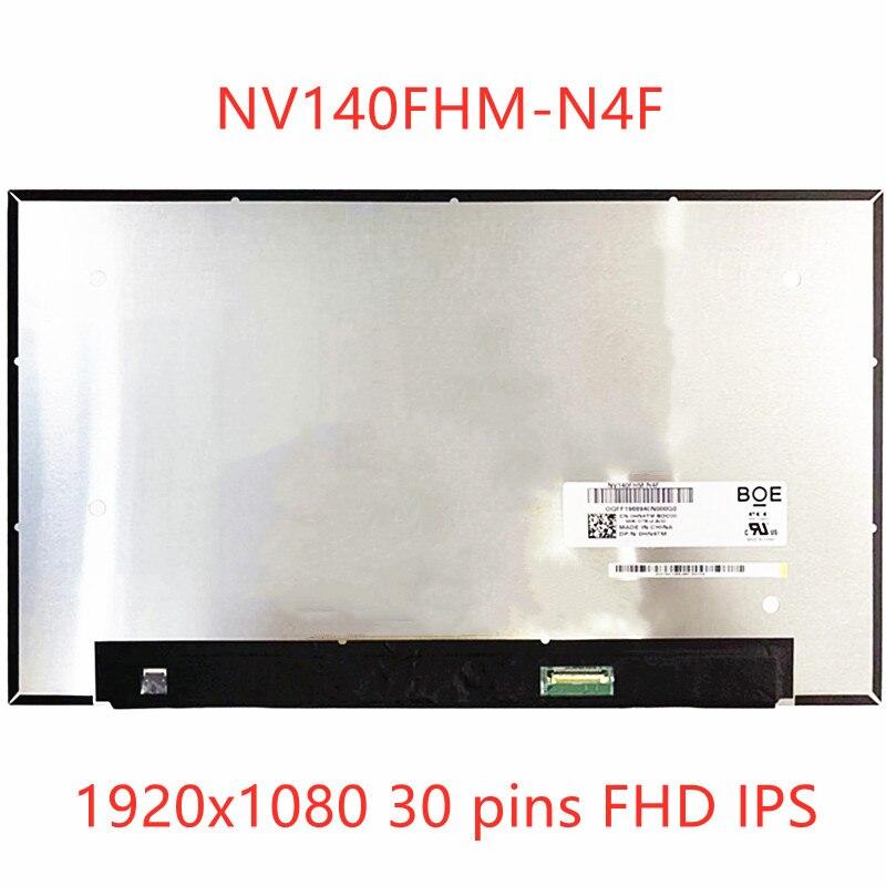14.0 ''IPS لوحة LCD شاشة FHD عرض مصفوفة استبدال NV140FHM-N4F N47 1920x1080 30 دبابيس