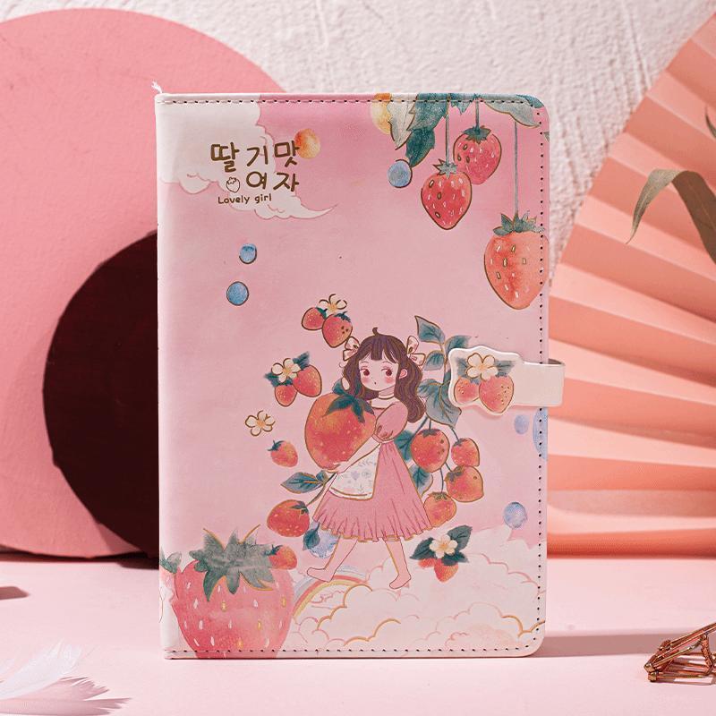 Блокноты и журналы в японском и корейском стиле