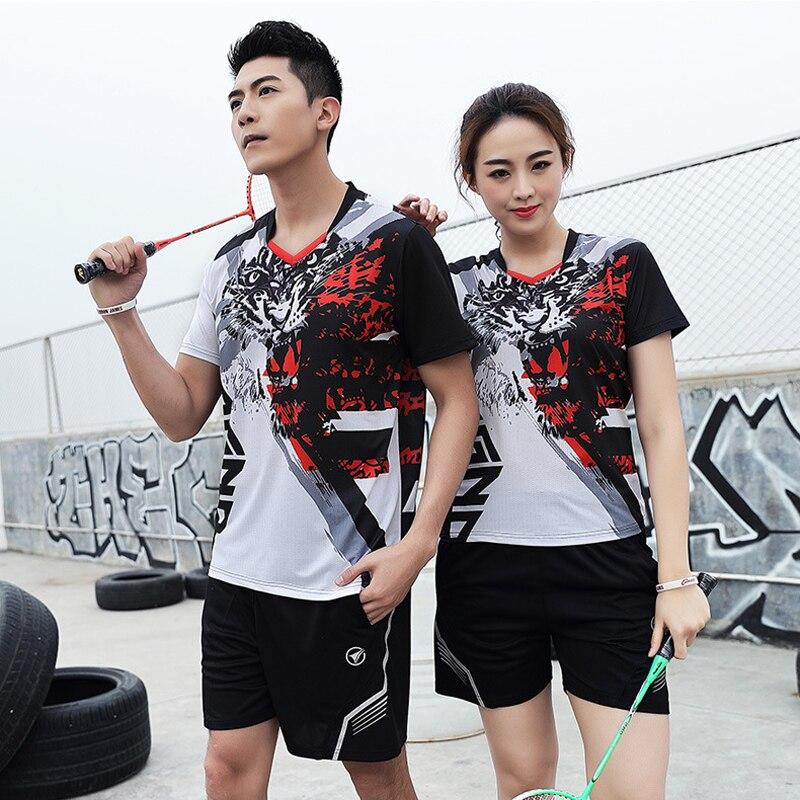 Hommes femmes chemise de Tennis filles garçons goft chemise Tennis de Table Badminton chemise hommes vêtements de sport jeunes Shorts Tennis formation uniforme