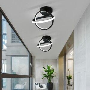 Verllas Rotatable Modern LED Ceiling Lights for bedroom bedside lamp corridor aisle balcony minimalist porch Led ceiling Lamp