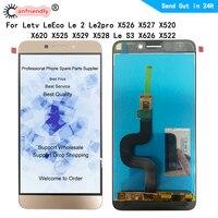 ЖК-дисплей 5,5 дюйма для Letv LeEco Le 2, Le 2pro, X526, X527, X520, X620, X525, X529, X528, Le S3, X626, X522, сенсорный экран с цифровым преобразователем в сборке