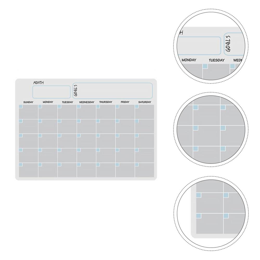 1 Набор стираемых календарей, холодильников, магнитных календарей, холодильников, белой доски