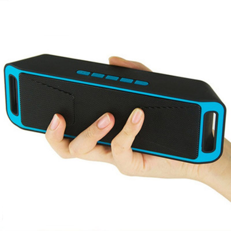Altavoz portátil Bluetooth, altavoz inalámbrico, Home theater, altavoz Subwoofer Bluetooth, TF, USB, radio FM, bluetooth, bajos dobles