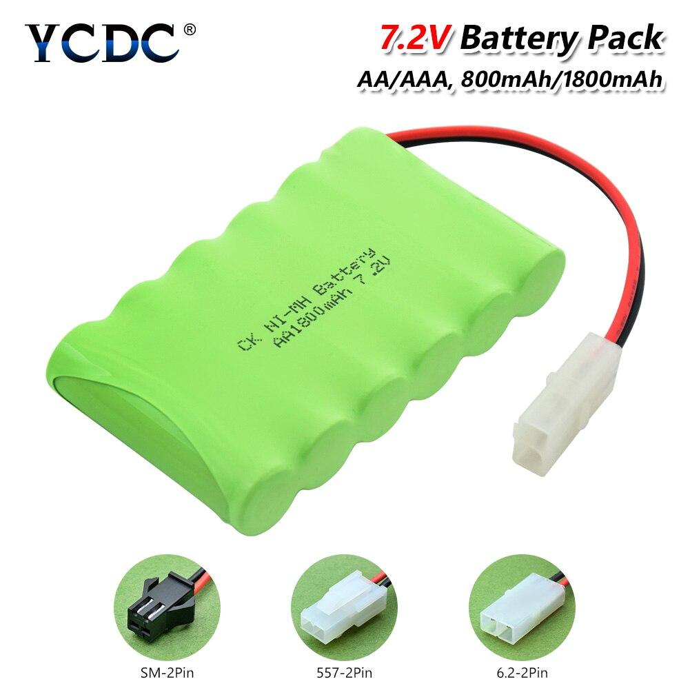 Batería de 7,2 v, 1800mah, 7,2 v, 6 pilas AA nimh recargables...