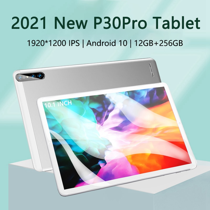 Tablets Android 10.0 12GB RAM 512GB ROM tablet pc 10.1 inch MTK6797 Octa Core tableta GPS Android Tablet Bluetooth Type-C