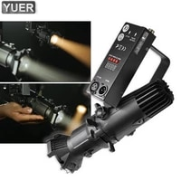 25w mini led profile spot light with dmx 512 museum video studio art show theater projector pro stage dj lighting equipment