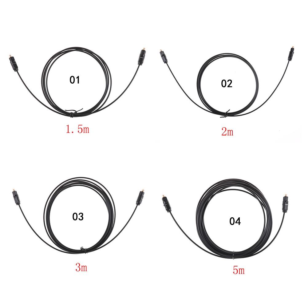 Digital Audio Cable de fibra óptica Toslink SPDIF Cable de PVC para...