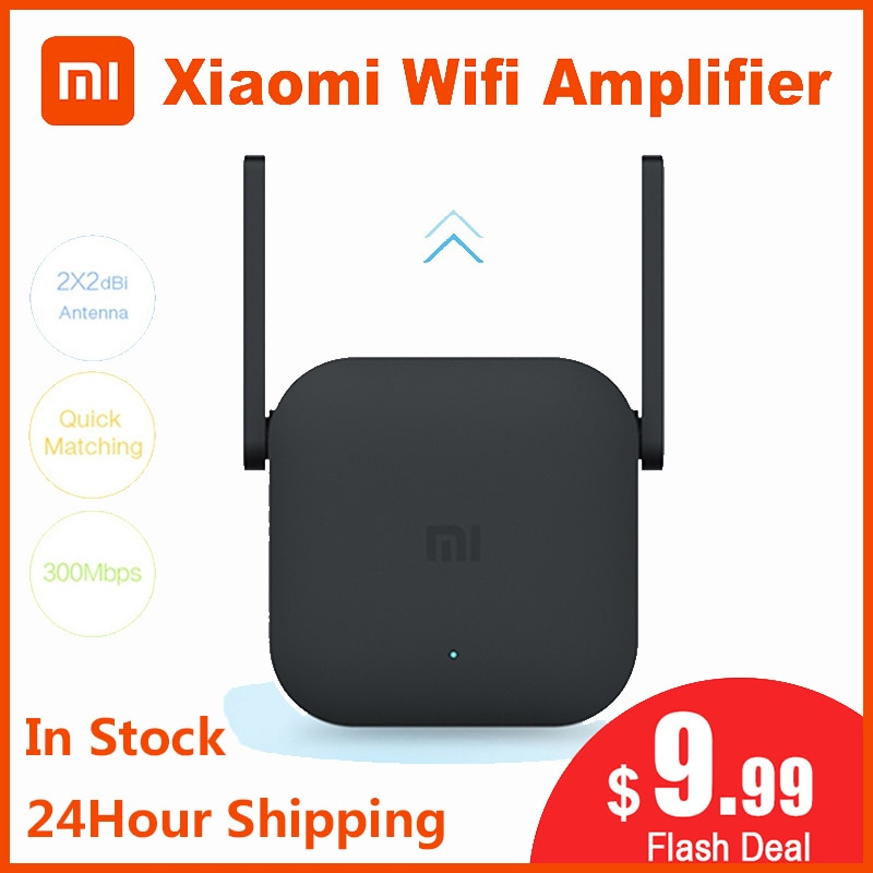 Xiaomi Original Wifi Verstärker Pro Router 300M 2,4G Repeater Netzwerk Expander Range Extender Roteader Mi Wireless Router Wi-fi