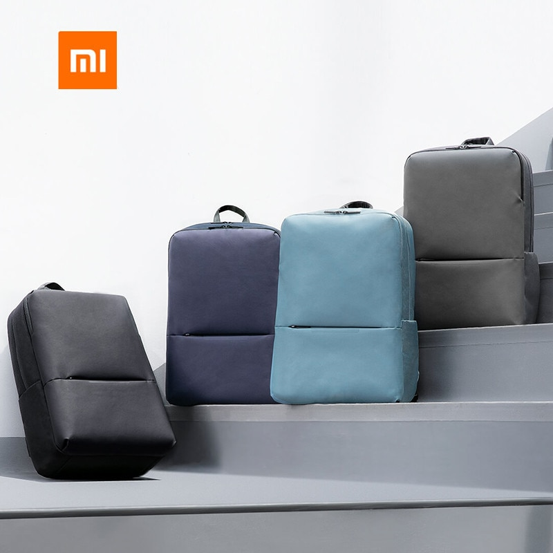 Original Xiaomi Mijia Simple Casual Backpack 2 Polyester Comfort Material 15.6 inch Men Women Bags For Business