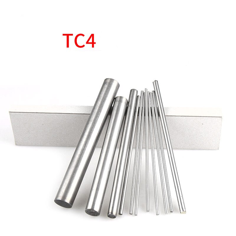 1pcs Length 100mm TC4  Titanium Ti Bar Grade Wire Stick GR5 Metal Rod Diameter 18mm-30mm For Turbine Manufacturing aerospace