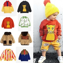 2020 New Mini Kids Winter Clothes Boys Clothes Jackets Sweatshirt Pants POP Sun T Shirts Baby Girls