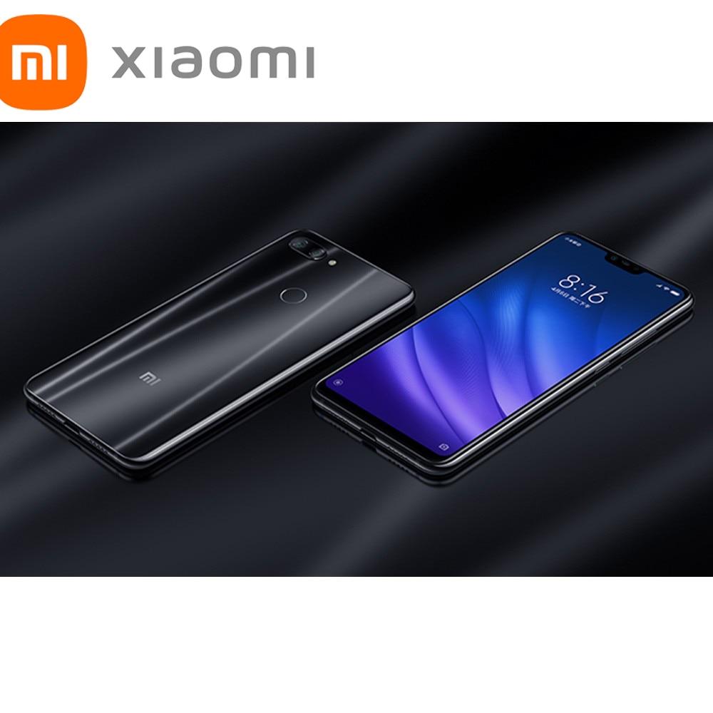 Глобальная версия Xiaomi Mi 8 Lite 6,26 полноэкранный смартфон 4GB 64GB RAM Snapdragon 660 Восьмиядерный Тройная камера 3500 мАч