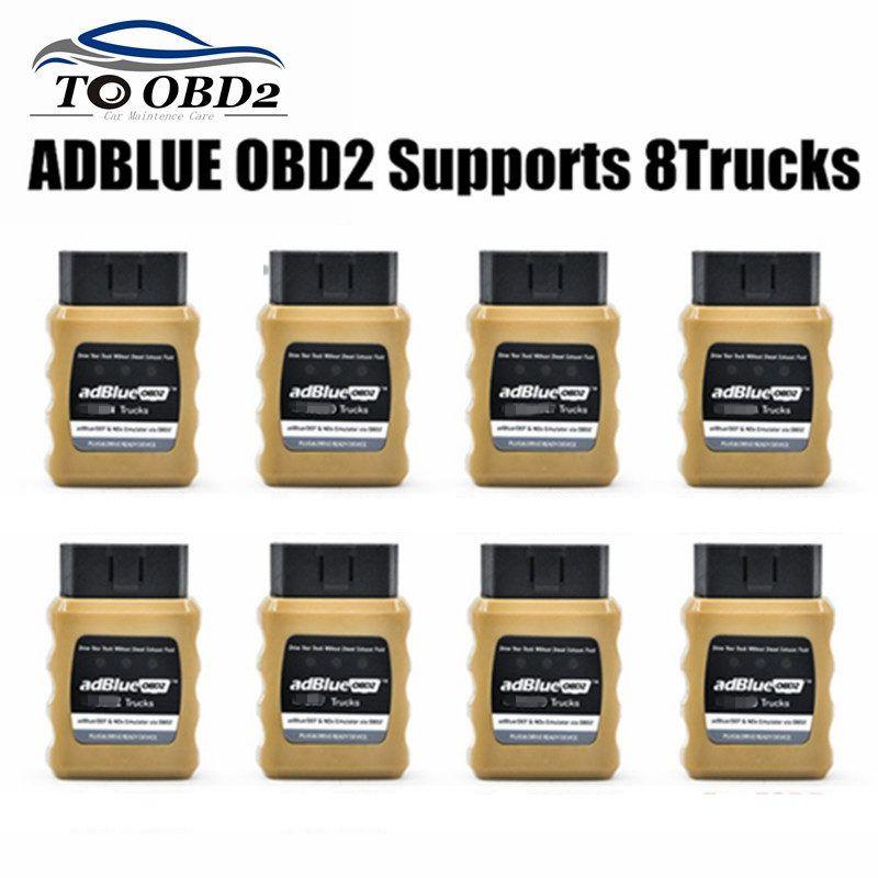 Emulador AdblueOBD2 fácil de instalar, dispositivo listo para enchufar y conducir Adblue OBD2 para VolvO/DAF/Benz/Renault/Scania/Man/Iveco
