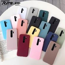 Case For Xiaomi Redmi Note 9S 9 Pro Max 8T 8 Redmi 9 10X 8A K20 Candy Color Matte Cases For Xiaomi M