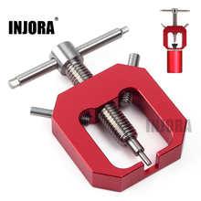 INJORA металлический синий/красный Мотор шестерня съемник для RC Гусеничный RC автозапчасти