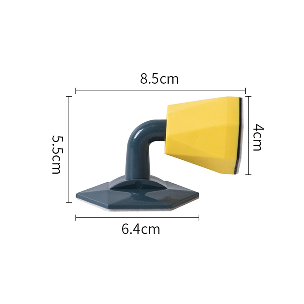 No Need To Perforate Silent Silicone Door Stopper Quick Install Anti-Collision Fixator For Door