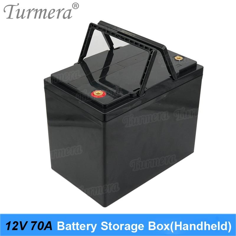 صندوق تخزين بطارية 12 فولت ، 3.2 فولت Lifepo4 ، 70Ah إلى 100Ah ، للنظام الشمسي ، مزود الطاقة غير المنقطعة Turmera