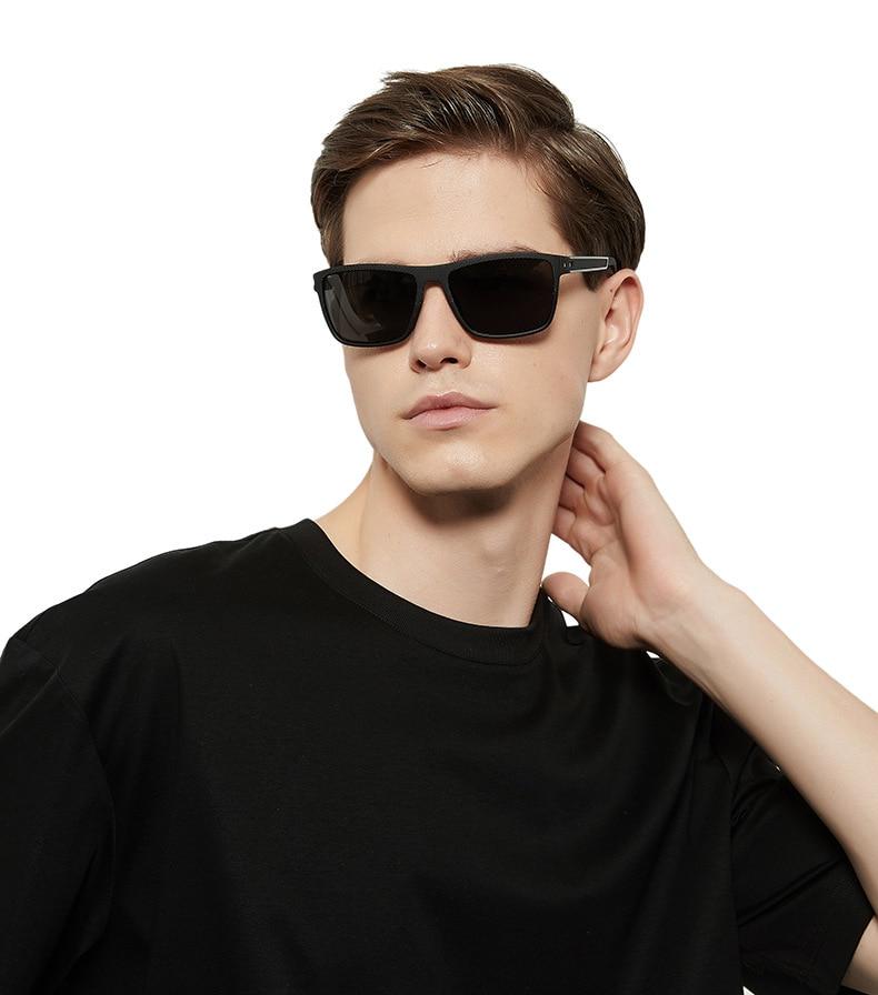 New Fashion Men Polarized Sunglasses Classic Anti-Reflective Mirror Brands Women Sun Glasses Square