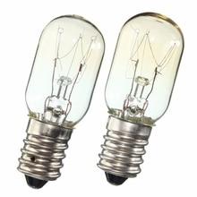 AC 220-230V Edison-birne Kühlschrank Kühlschrank Glühbirne Wolfram Filament Lampe Birnen Warmweiß Ligthing E14 SES 15 W/25 W