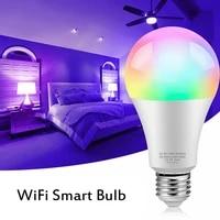 Ampoule intelligente WiFi LED RGBW   WW  lampe a intensite variable Siri pour commande vocale  E27 8W 2021-2700 K pour Apple HomeKit APP 85-6500 V  265