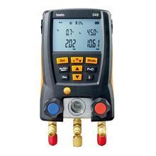 Medidor de presión de aire de refrigeración Testo 549 Digital conjunto de manómetro de colector de refrigerante 2 uds herramienta de sondas de abrazadera