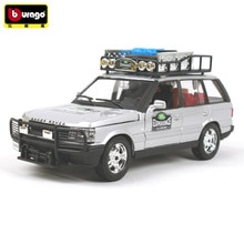 BBURAGO 124 LAD ROER Range Rover véhicules tout-terrain Diecasts Simulation alliage voiture modèle Collection cadeau jouet décoration avec boîte