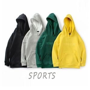 Kids boys Sport Suit pullover Winter Autumn Baby Clothes hooded pockets Baby Boys Clothing  Children Casual clothes 4-12Y