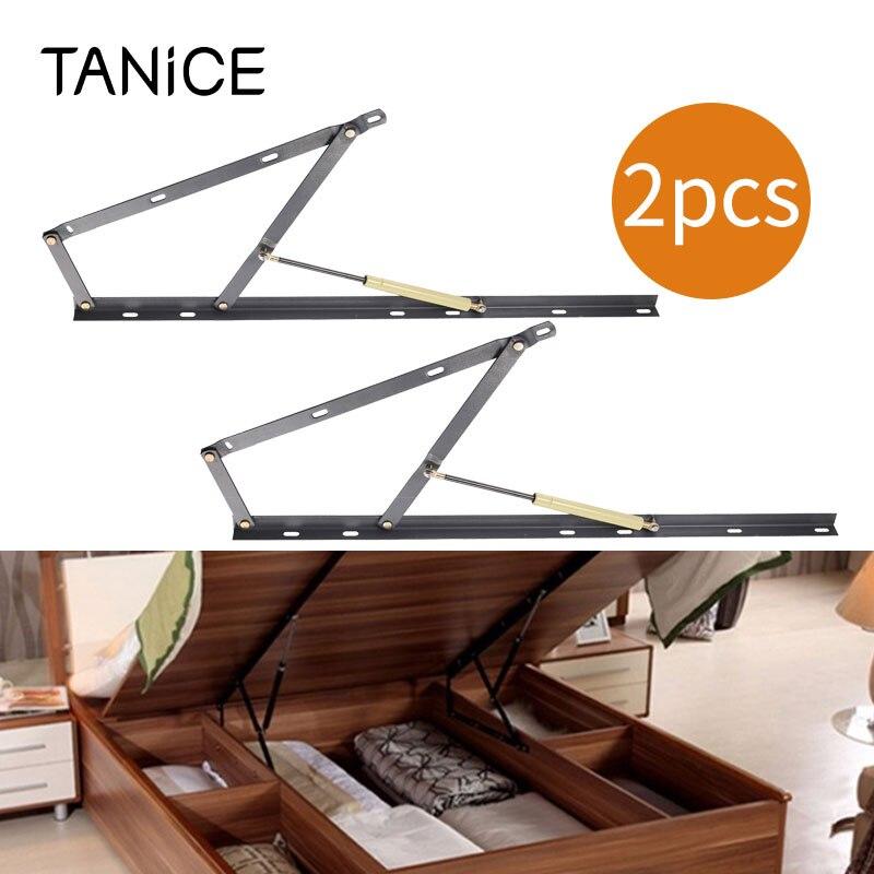 TANiCE, 2 uds., soporte de elevación, columna de bloqueo avanzado para almacenamiento otomano, cama/elevación, mecanismo de bisagra y columna de aire 1200N