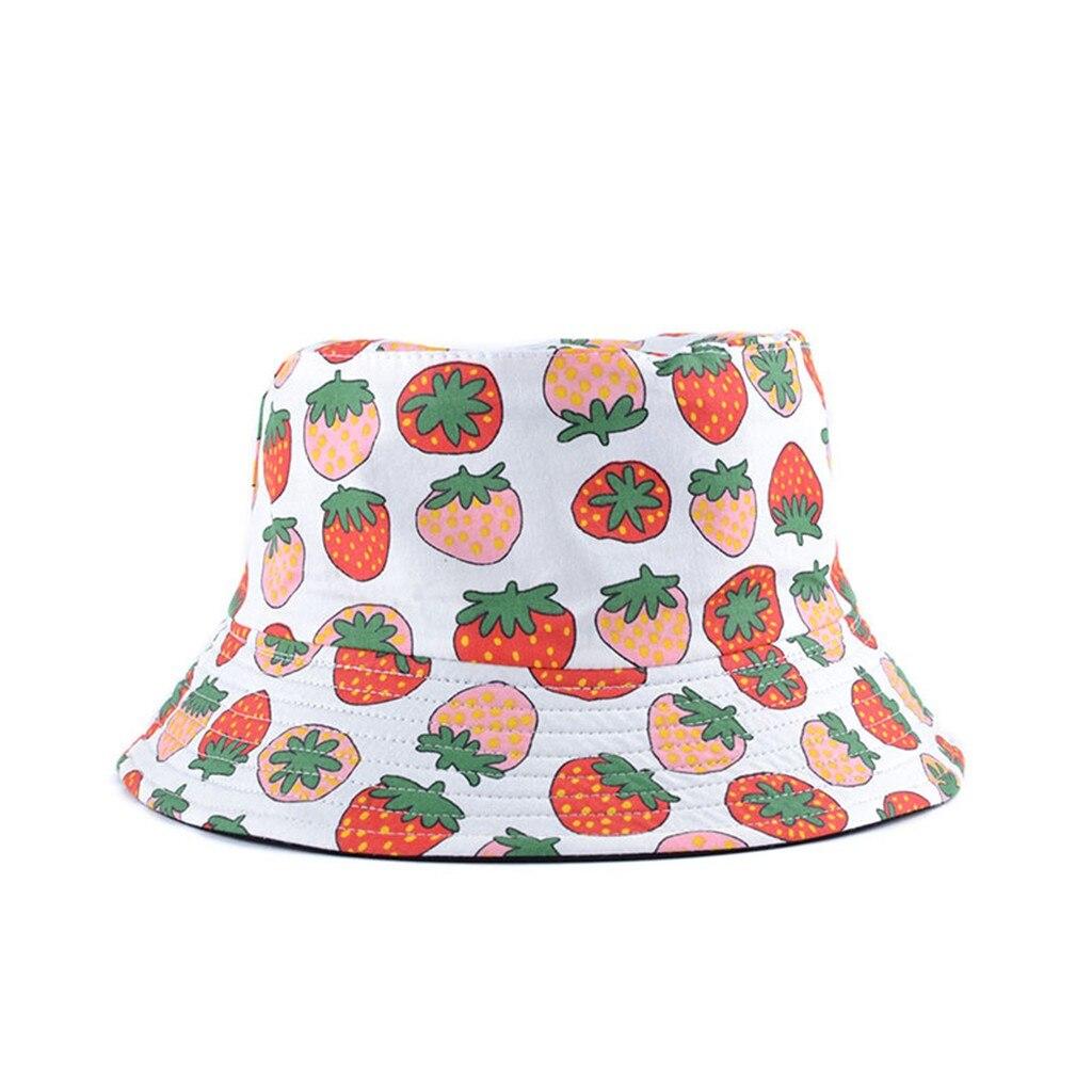 Мужская шляпа-Панама, женская летняя Панама с фруктовым принтом, шляпа Боба в стиле хип-хоп, Рыбацкая шапка для рыбалки, Пляжная Шляпа От Сол...