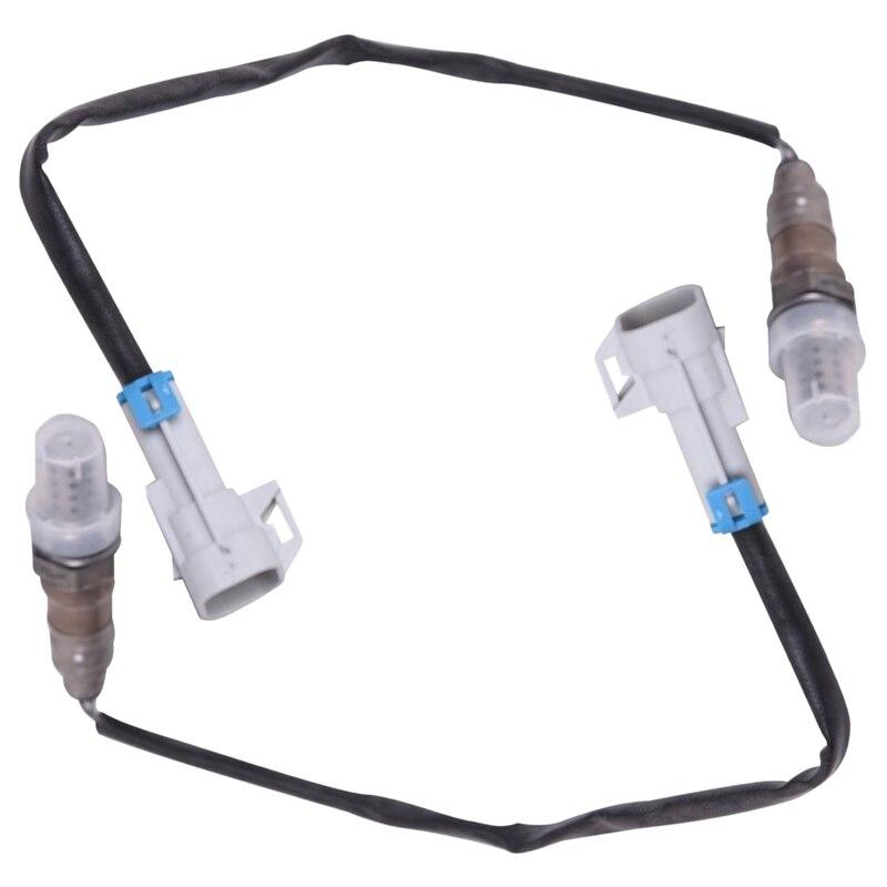 2 uds arriba O2 oxígeno Sensor Lambda para Buick Chevrolet Silverado GMC 12559850