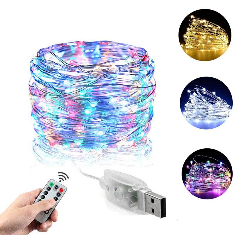 Сказосветильник гирлянда, светодиодная Праздничная лампа с дистанционным управлением, USB гирлянда светильник рлянда, гирлянда, рождествен...