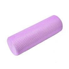45/60/90*15cm sólido Yoga columna bloque EVA Pilates espuma rodillo Fitness entrenamiento palo rodillo de masaje gimnasio herramienta deportiva