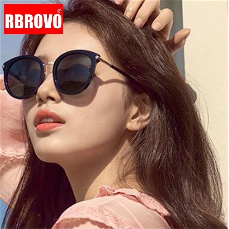 2021 Модные женские солнцезащитные очки RBROVO, брендовые дизайнерские очки, мужские винтажные темные очки для покупок в уличном стиле, солнцеза...