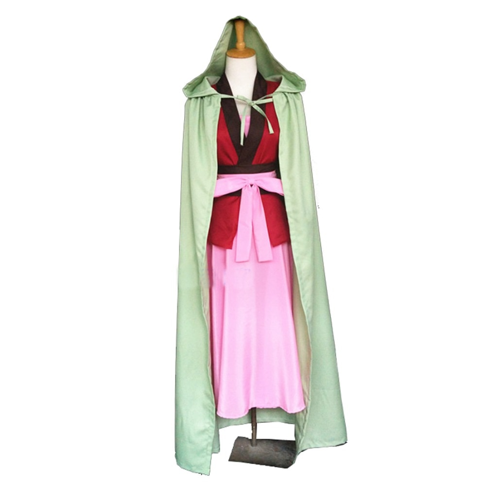Cosplay de Yona of the Dawn, Cosplay de Anime Akatsuki no Yona, disfraz, vestido de Yona, capa, uniforme, capa con pendientes