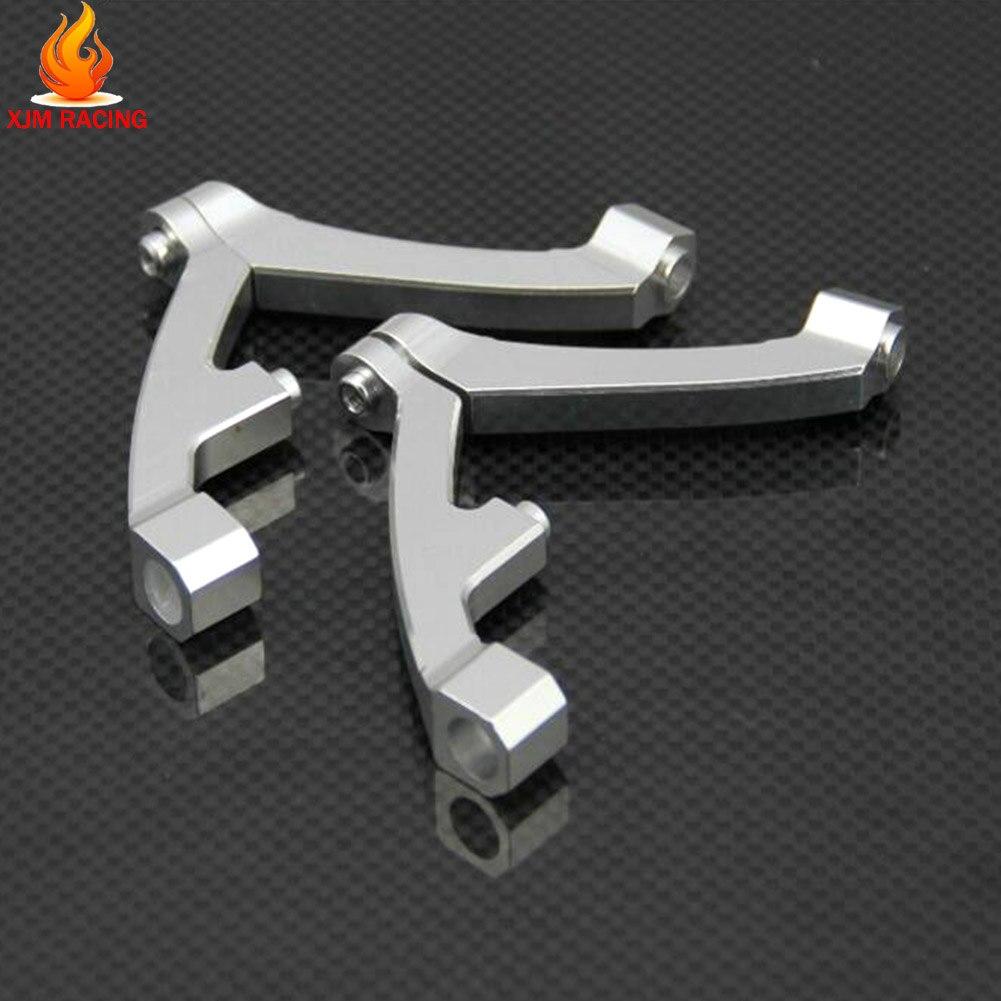 De Metal CNC delantera y suspensión trasera soporte para 1/5 GTB de carreras Hpi Rofun Rovan Km Mcd Baja 5b/5t/5sc juguetes del coche del Rc partes