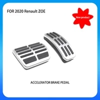for tesla model y model xs car accessories brake pedal aluminum alloy brake and accelerator pad fuel brake pedal cover