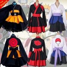 Costume Cosplay su misura di HARUTO Shippuden Uzumaki Ninja femminile Lolita Kimono parrucca Anime per abbigliamento donna spedizione gratuita