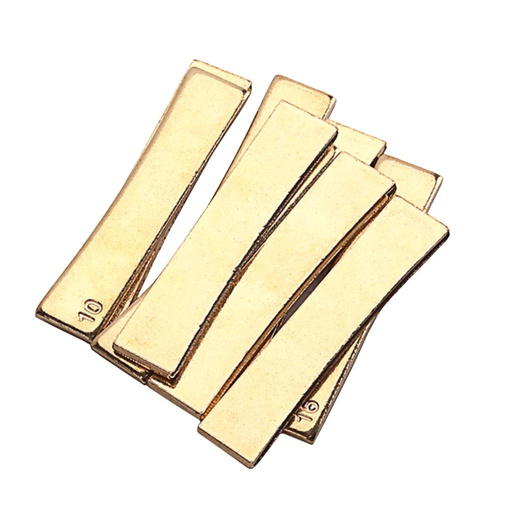 Fret Press Inserts- Brass- Individual 7.25