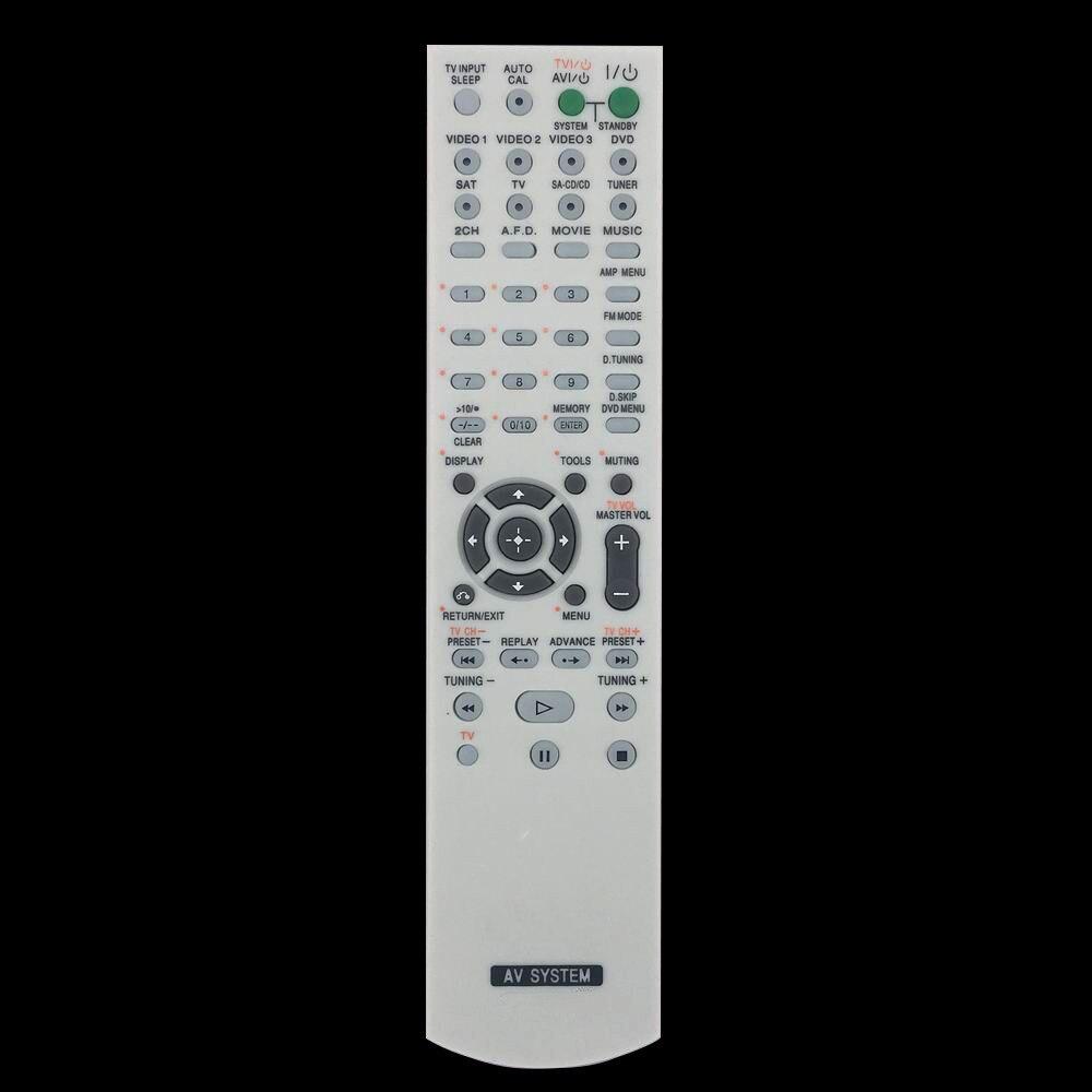 New Replacement Remote Control For Sony HT-SS600 STR-DH800 STR-DA1500ES STR-DV10 STR-DE598 AV Home T