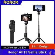 Original Honor AF15 trípode/palo Selfie portátil inalámbrico BT3.0, Monopod para iOS Android Teléfono Inteligente