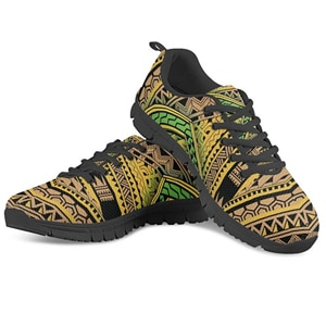 HYCOOL 2020 Latest Customized Flats Shoes Men s Casual Sneakers Shoes Polynesian Traditional Tribal 3D Printed Male Air Mesh